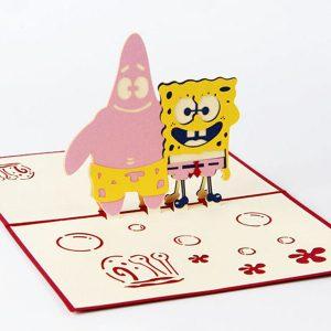 3D Card SpongeBob