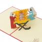 3D Christmas Nativity Pop Up Card
