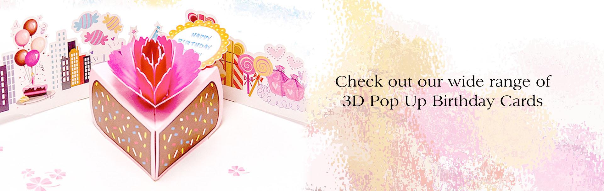 3D Pop Up Birthday Cards